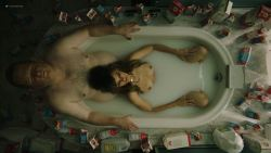 Frankie Shaw nude topless in the tub - Smilf (2019) s2e2 HD 1080p (2)