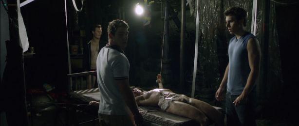 Jenny Spain nude bush and butt - Deadgirl (2008) HD 720p BluRay (3)