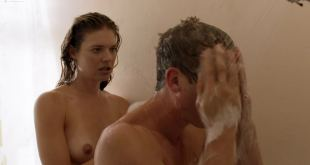 Kate Miner nude topless in the shower - Shameless (2019) s9e10 HD 1080p (2)