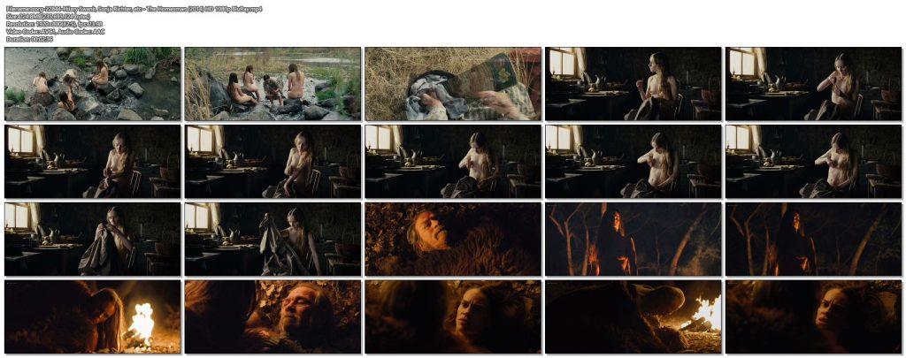 Hilary Swank nude bush Sonja Richter nude topless - The Homesman (2014) HD 1080p BluRay (1)