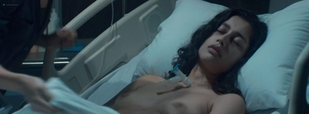 Jenna Harrison nude butt and topless and Karishma Ahluwalia nude - Chimera Strain (2018) HD 1080p Web (12)