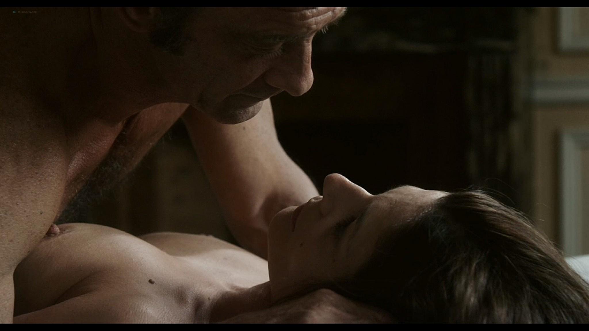 Lola Creton nude full frontal and Chiara Mastroianni nude sex - Bastards (2013) HD 1080p (4)