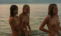 Patti D'Arbanville nude full frontal Mona Kristensen nude bush - Bilitis (1977) HD 1080p BluRay (16)