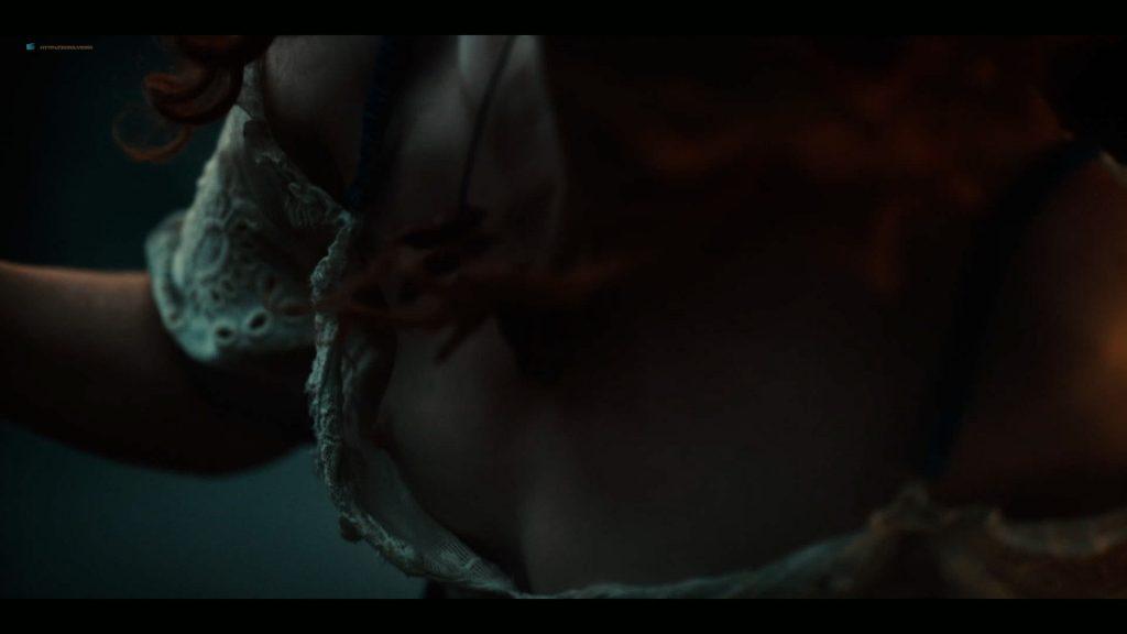 Emily Browning nude hot sex Hani Furstenberg nude sex too - American Gods (2019) s2e5 HD 1080p (12)