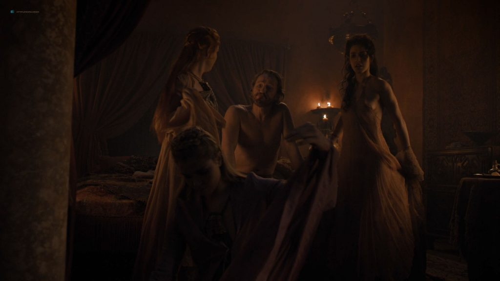 Josephine Gillan nude full frontal Lucy Aarden nude - Game of Thrones(2019) s8e1 HD 720/1080p (14)