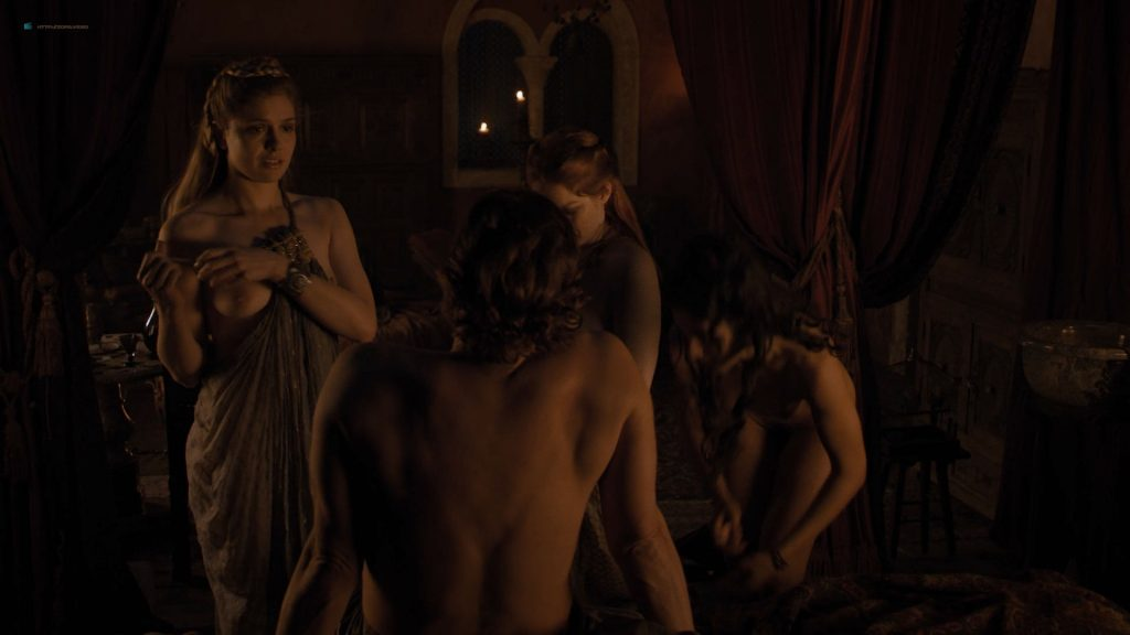 Josephine Gillan nude full frontal Lucy Aarden nude - Game of Thrones(2019) s8e1 HD 720/1080p (12)