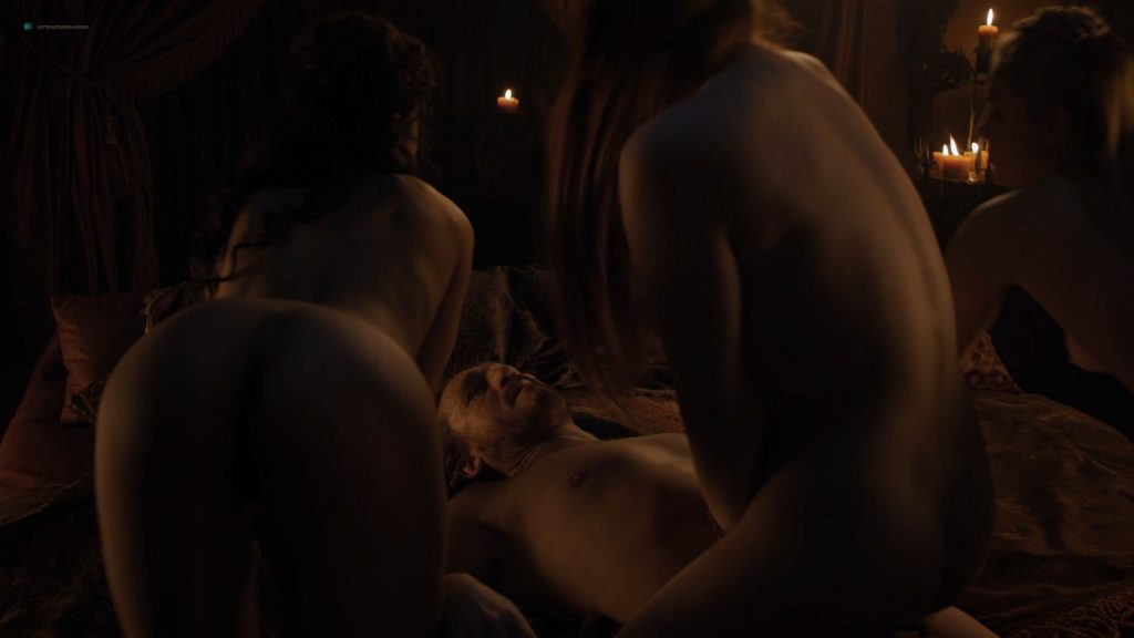 Josephine Gillan nude full frontal Lucy Aarden nude - Game of Thrones(2019) s8e1 HD 720/1080p (8)