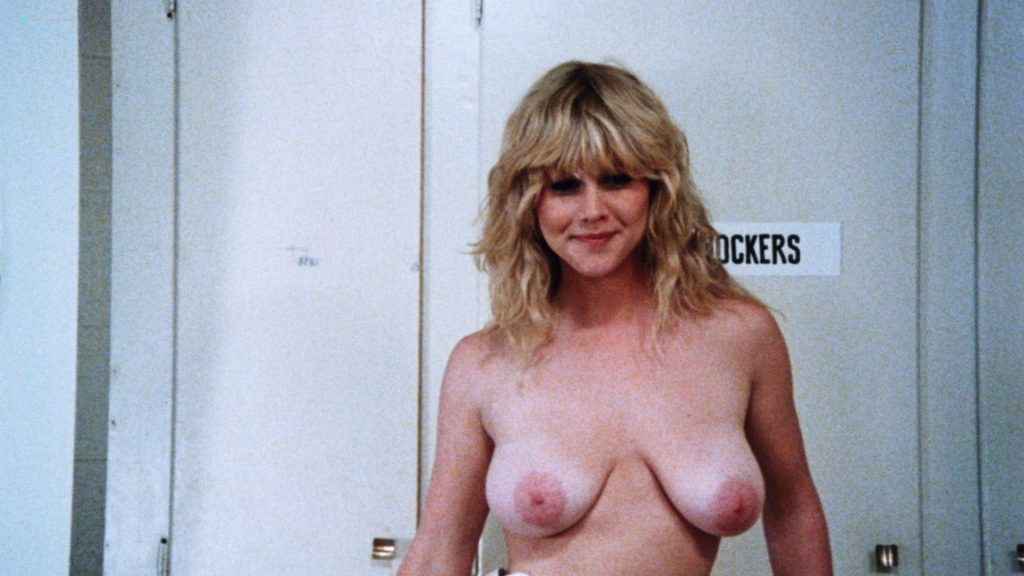 Kimberly McArthur nude topless Sybil Danning, Barbara Edwards other's nude too - Malibu Express (1985) HD 1080p BluRay (20)