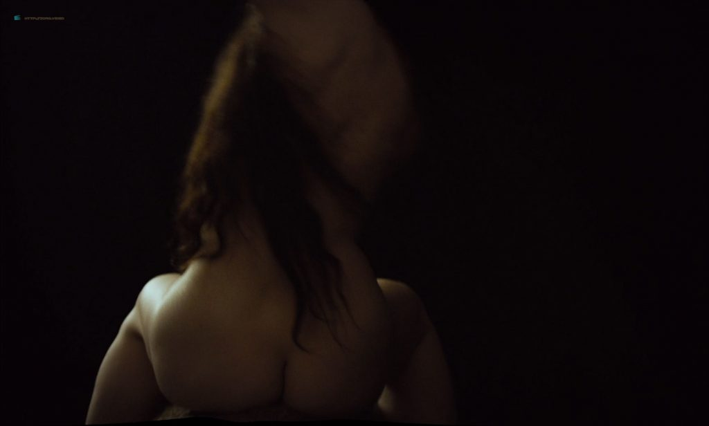Mia Goth nude topless and Juliette Binoche nude too - High Life (2018) HD 1080p BluRay (7)
