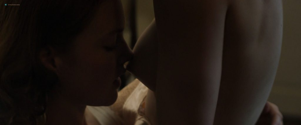 Anna Paquin nude topless and lesbian sex with Holliday Grainger - Tell It to the Bees (2018) HD 1080p Web (7)