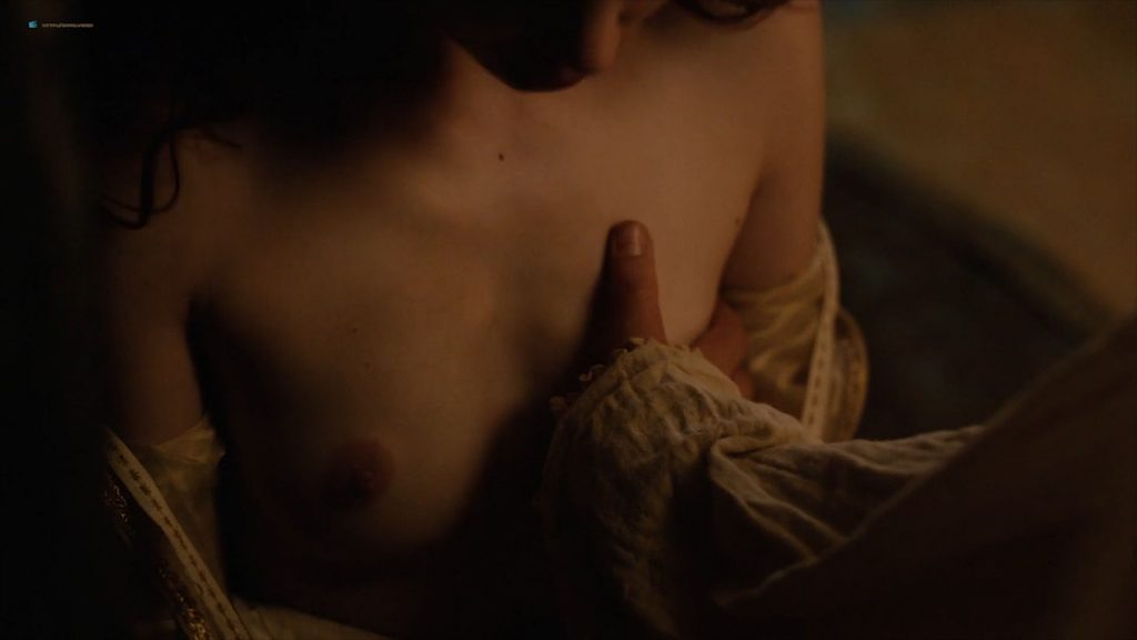 Charlotte Hope nude topless and sex - The Spanish Princess (2019) s1e2 HD 1080p Web (8)
