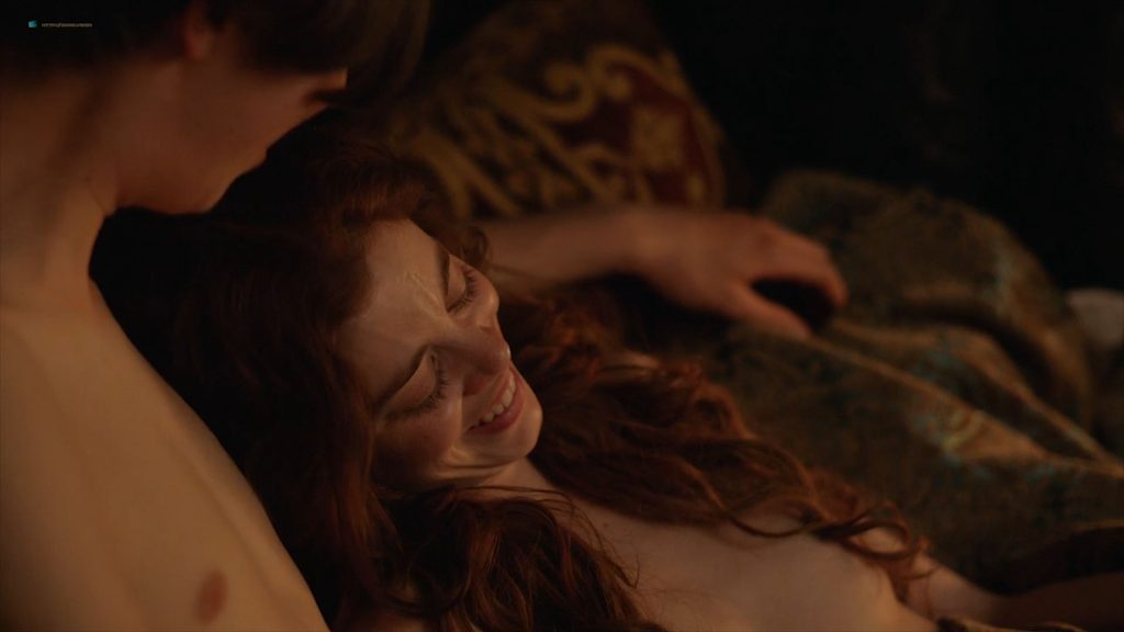 Charlotte Hope nude topless and sex - The Spanish Princess (2019) s1e2 HD 1080p Web (4)