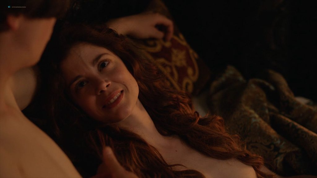 Charlotte Hope nude topless and sex - The Spanish Princess (2019) s1e2 HD 1080p Web (3)