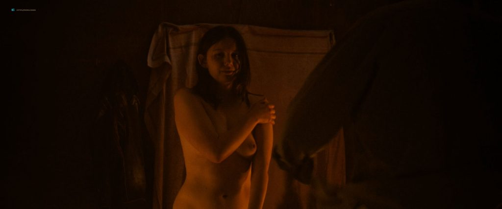 Hannah Murray nude sex Marianne Rendón, Kayli Carter and others nude too - Charlie Says (2018) HD 1080p Web (9)