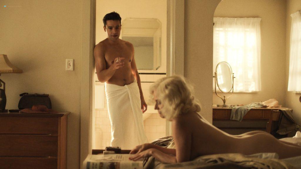 Julie Ann Emery nude topless butt and sex - Catch 22 (2019) s1e1 HD 1080p Web (4)