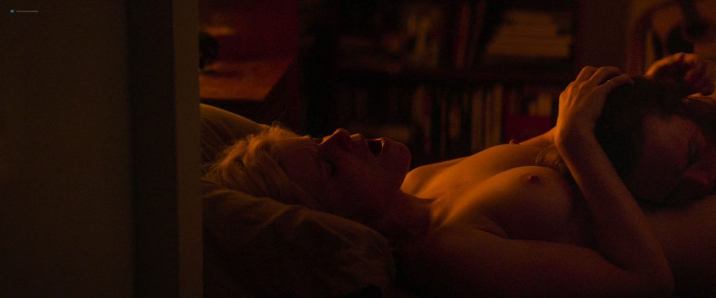 Kate Mara nude topless and lesbian sex with Ellen Page - My Days Of Mercy (2019) HD 1080p (7)