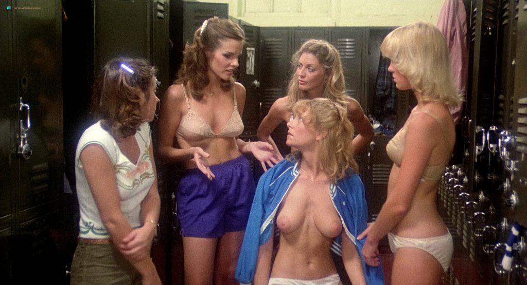 Sandy Johnson nude topless Kirsten Baker and Rikki Marin nude too - Gas Pump Girls (1979) HD 1080p BluRay (7)