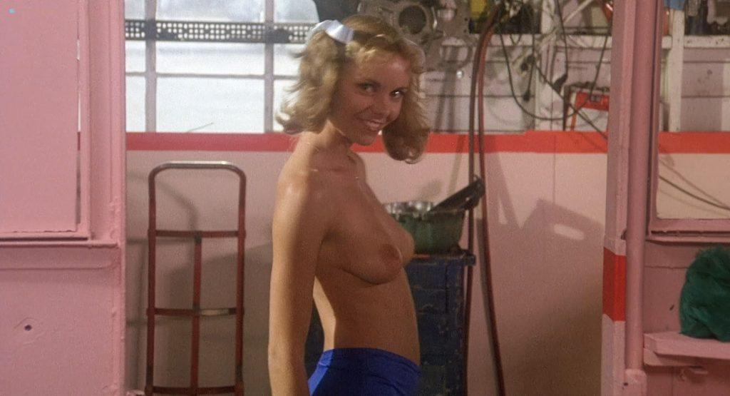 Sandy Johnson nude topless Kirsten Baker and Rikki Marin nude too - Gas Pump Girls (1979) HD 1080p BluRay (4)