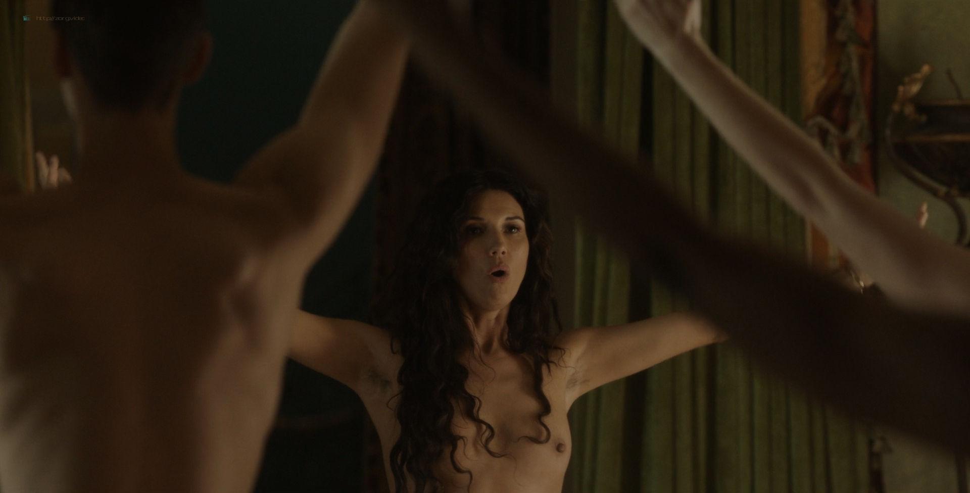 Amara Zaragoza nude topless Bella Heathcote hot orgy sex – Strange Angel (2018) s2e2 HD 1080p WEB (9)
