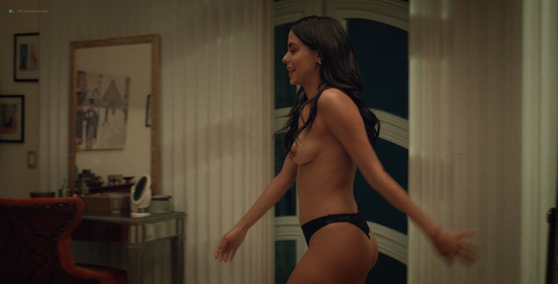 Ana Layevska nude lesbian sex with Florencia Ríos - Yankee (2019) S1 HD 1080p (9)