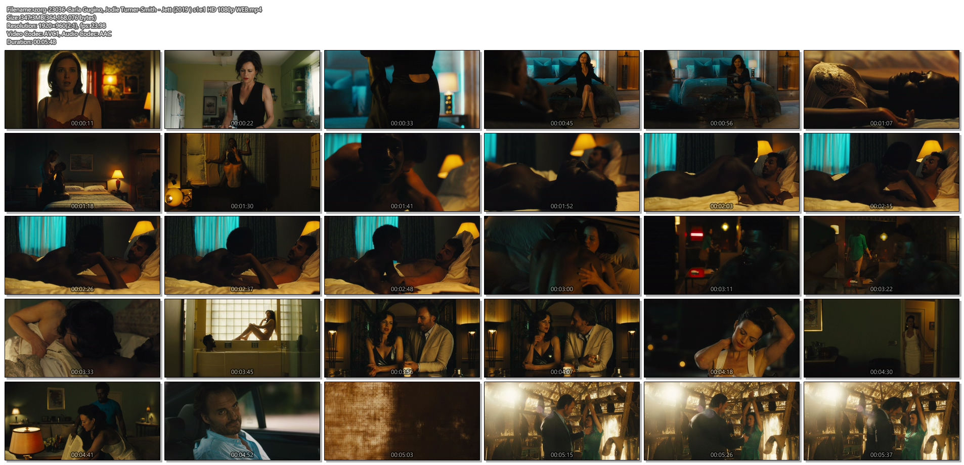 Carla Gugino hot some sex Jodie Turner-Smith nude and sex - Jett (2019 ) s1e1 HD 1080p (1)