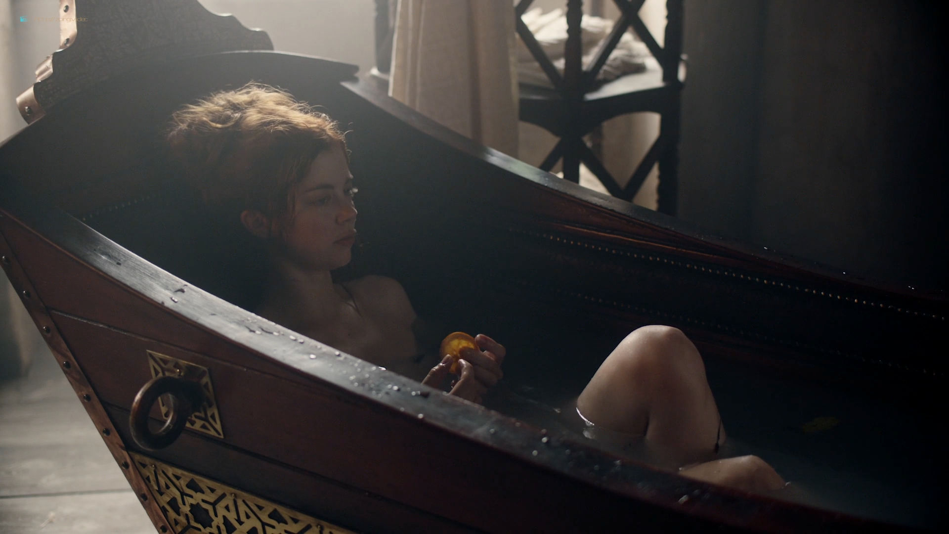 Charlotte Hope nude topless – The Spanish Princess (2019) s1e6 HD 1080p Web (8)