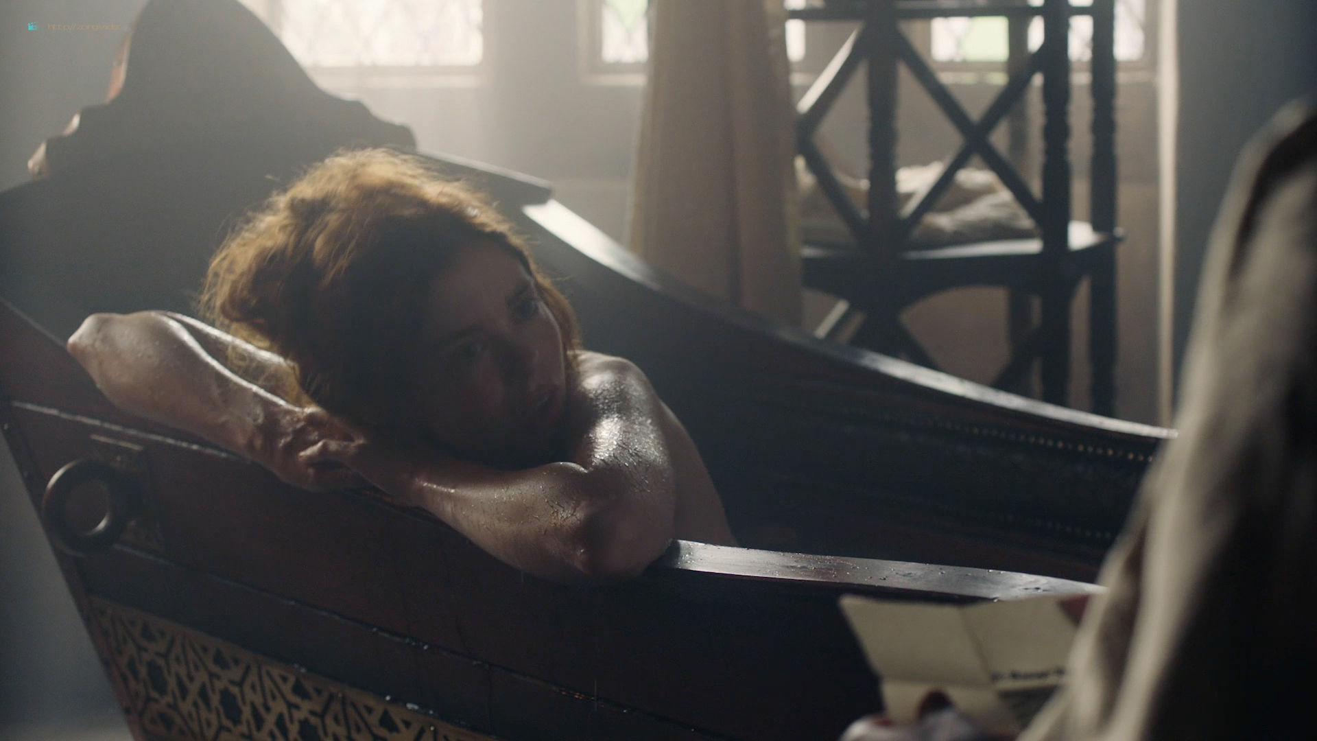 Charlotte Hope nude topless – The Spanish Princess (2019) s1e6 HD 1080p Web (7)
