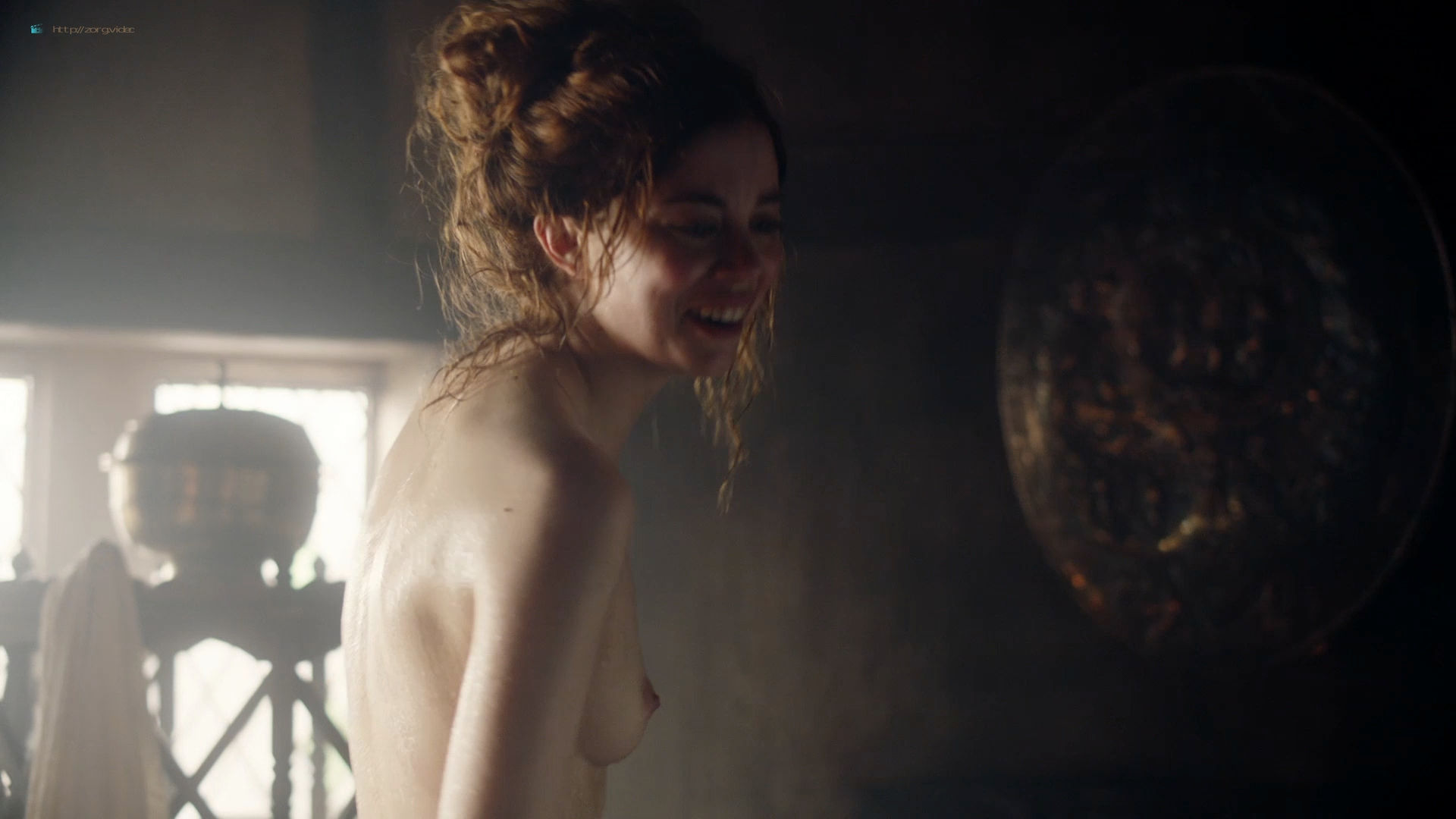 Charlotte Hope nude topless – The Spanish Princess (2019) s1e6 HD 1080p Web (4)