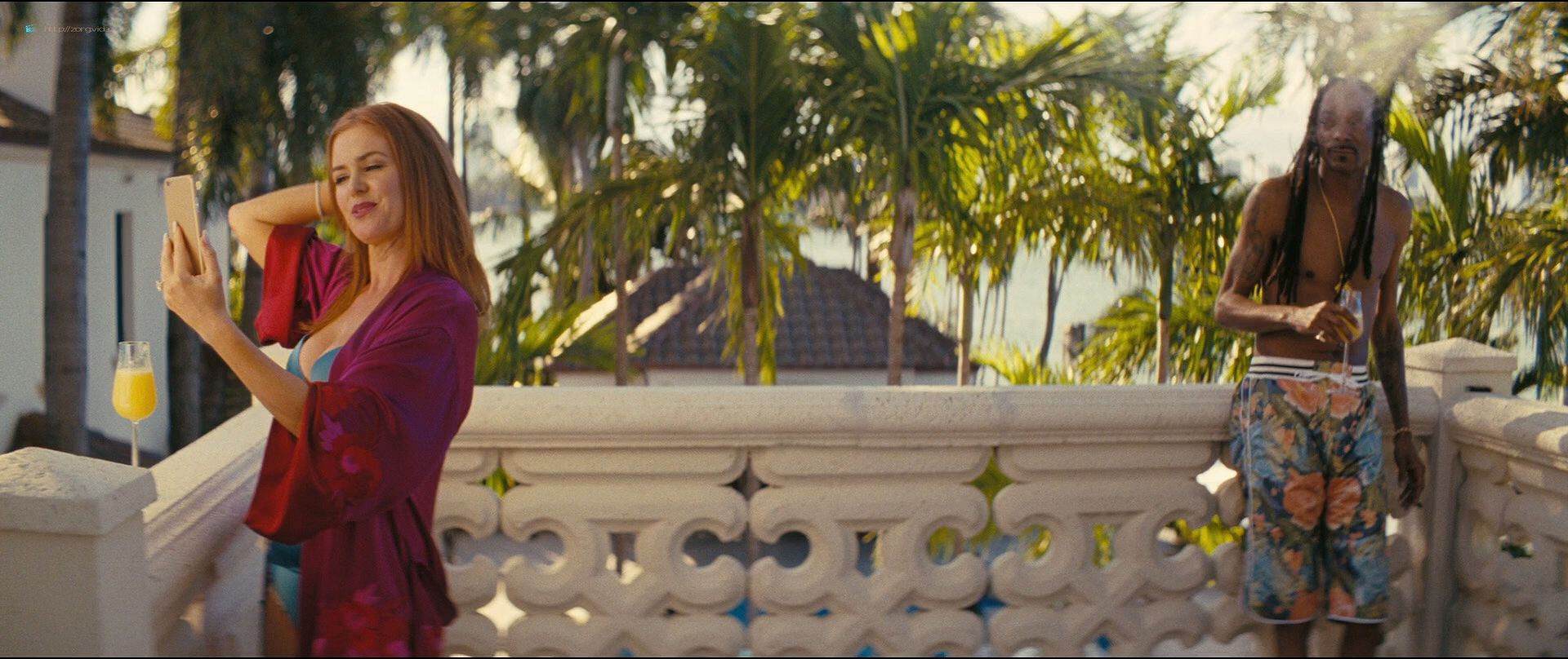 Isla Fisher hot and sexy others nude topless - The Beach Bum (2019) 1080p BluRay (5)
