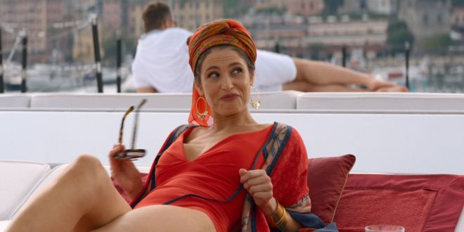 Jennifer Aniston hot Gemma Arterton sexy - Murder Mystery (2019) HD 1080p Web (11)