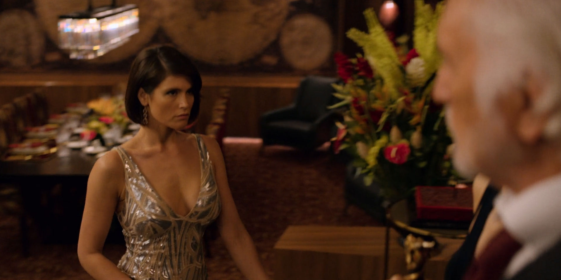 Jennifer Aniston hot Gemma Arterton sexy - Murder Mystery (2019) HD 1080p Web (5)