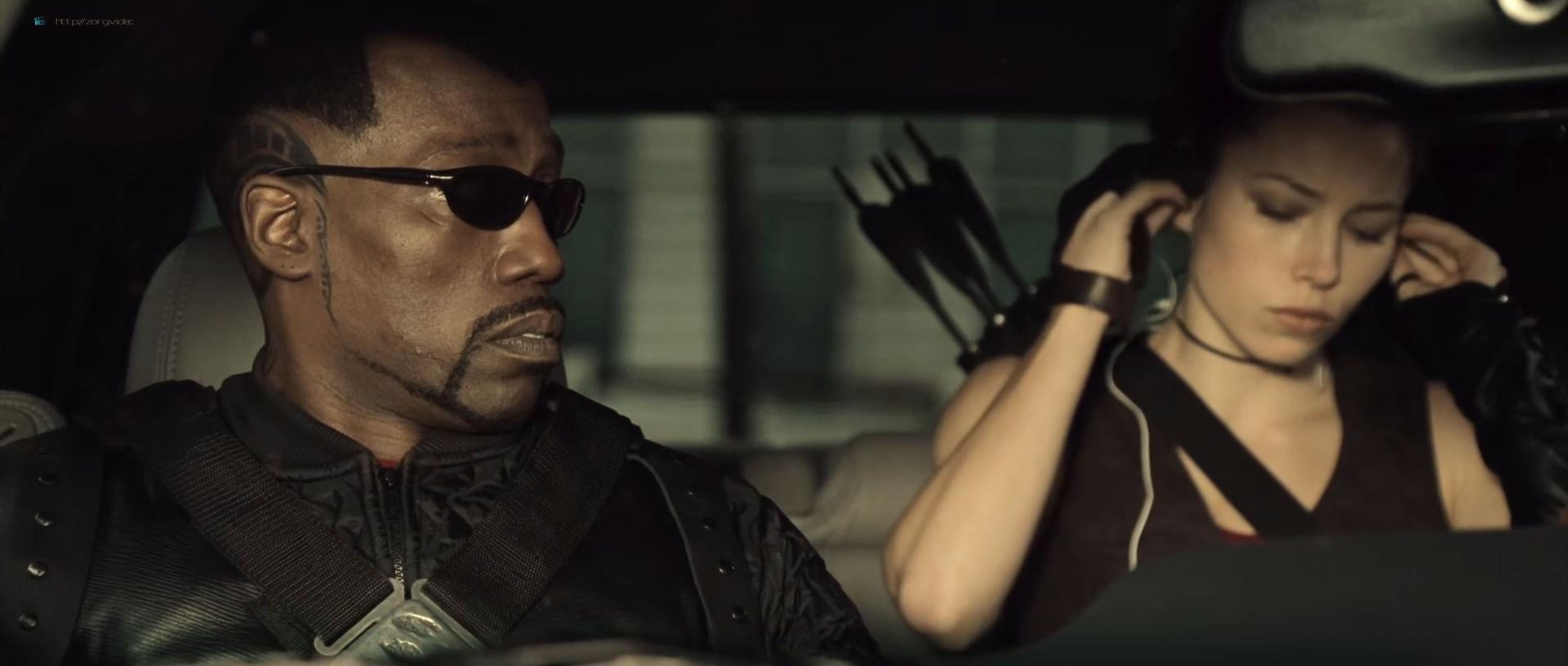 Jessica Biel hot and sexy - Blade Trinity (2004) HD 1080p BluRay (18)