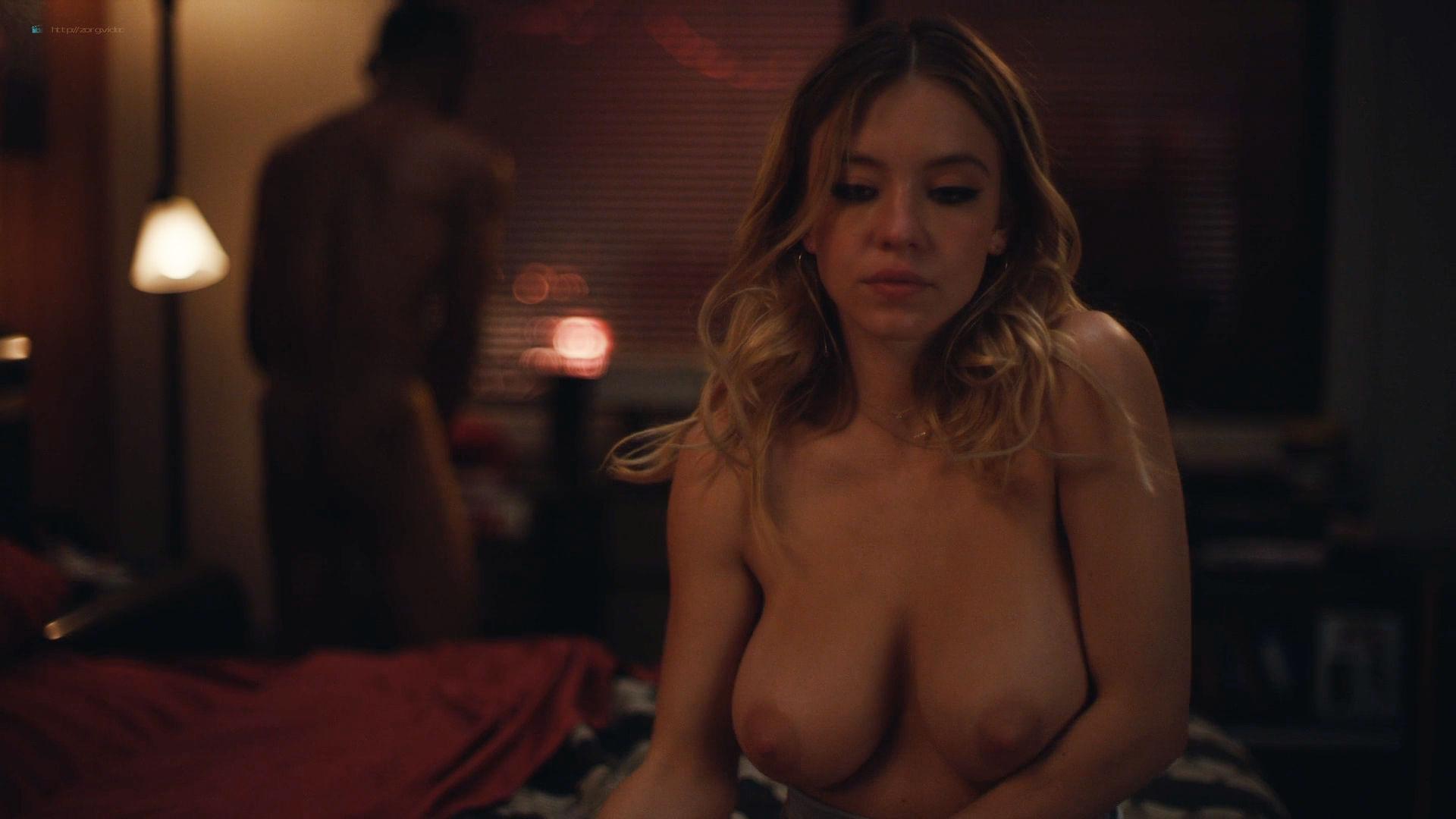 Sydney Sweeney nude sex Alexa Demie topless - Euphoria (2019) HD1080p (19)