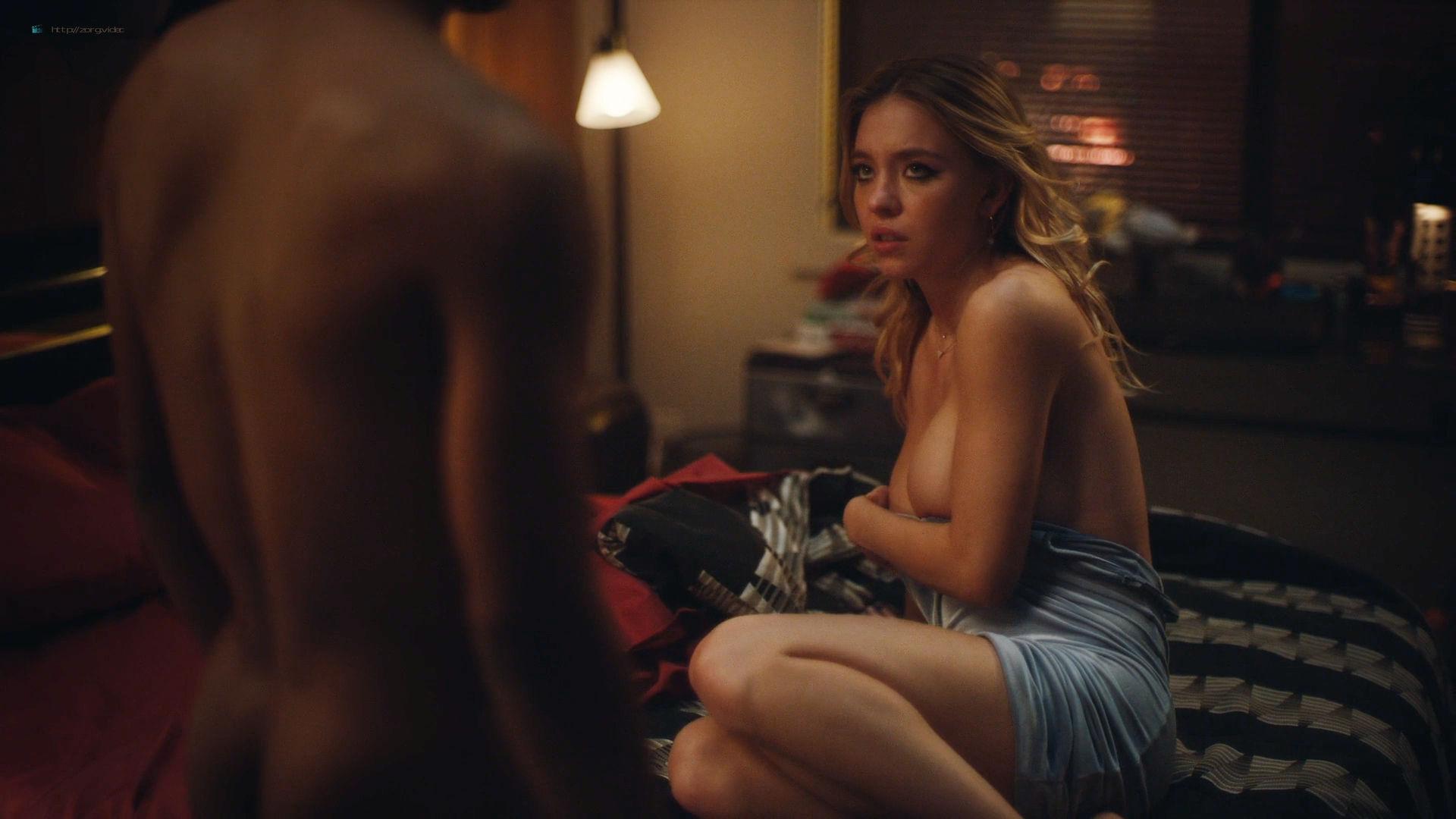 Sydney Sweeney nude sex Alexa Demie topless - Euphoria (2019) HD1080p (15)
