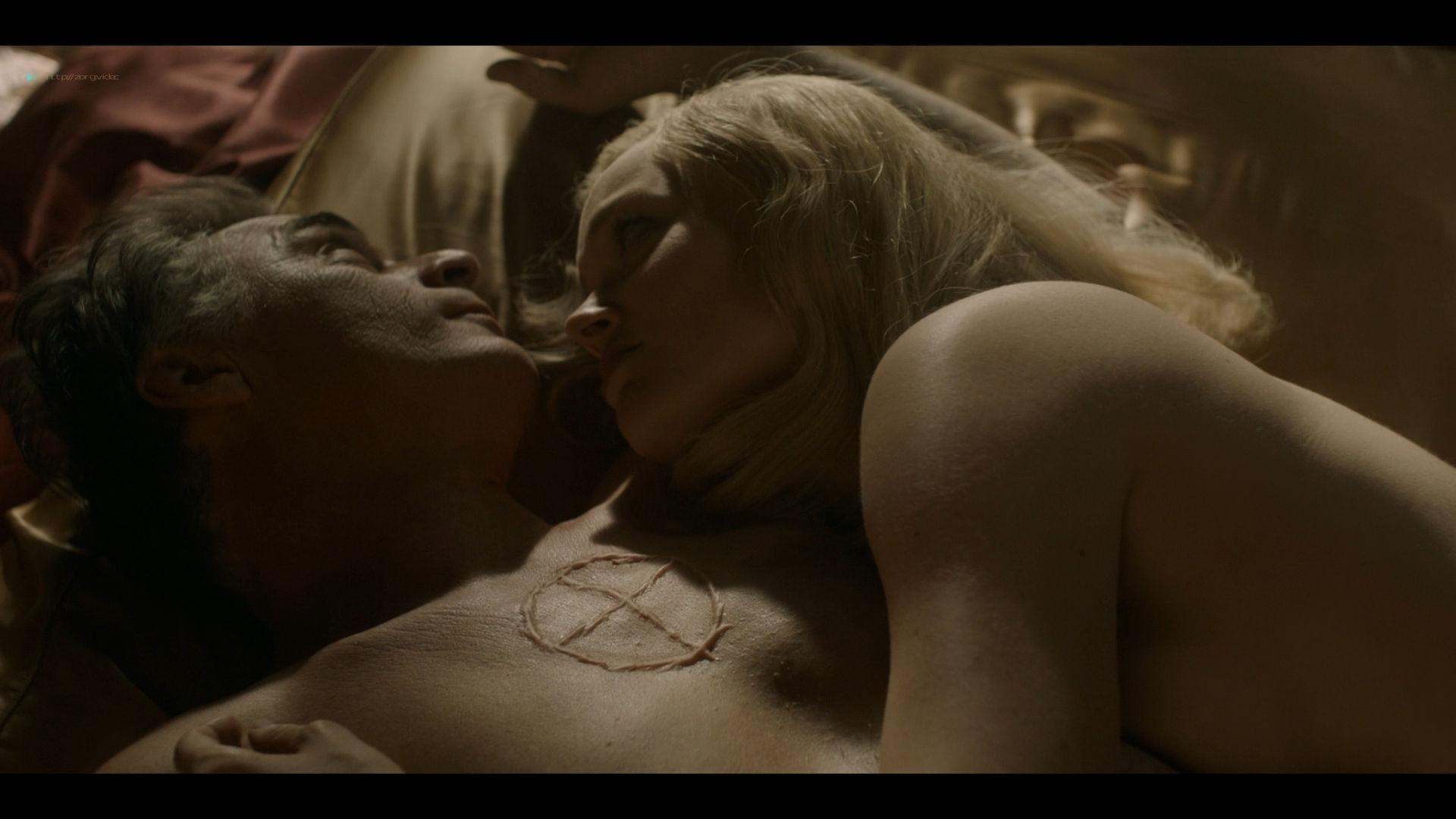 Bella Heathcote nude topless and butt Veronica Osorio nude - Strange Angel - (2019) s2e5 HD 1080p (9)