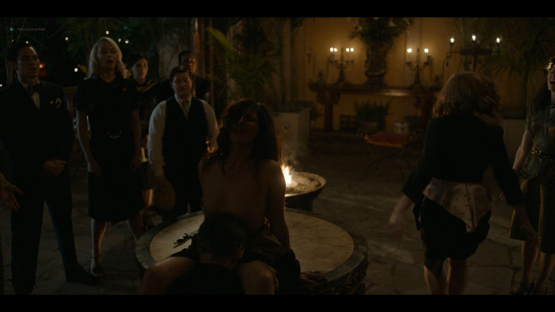 Bella Heathcote nude topless and butt Veronica Osorio nude - Strange Angel - (2019) s2e5 HD 1080p (3)