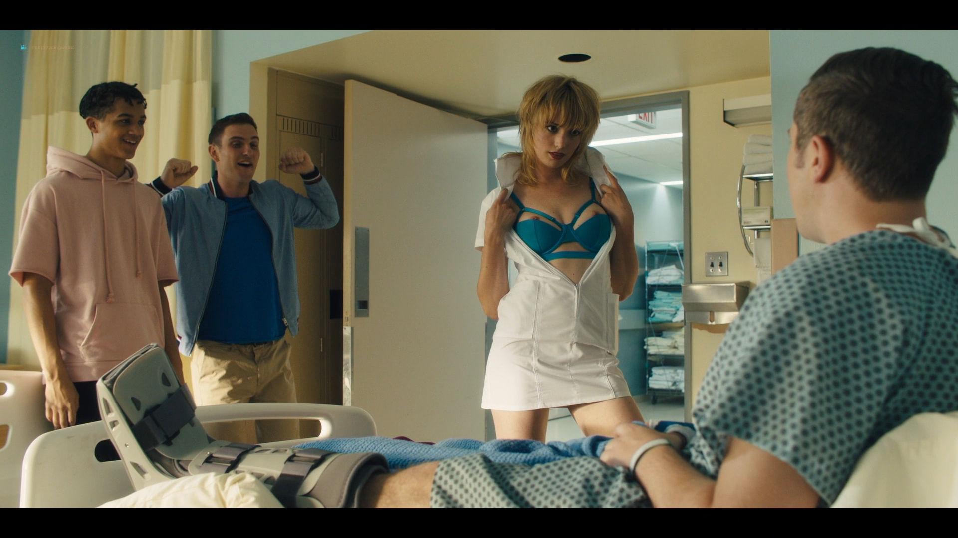 Carla Gugino sexy Gaite Jansen nude topless - Jett (2019) s1e4 HD 1080p (7)