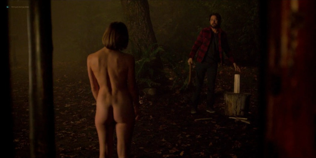Katee Sackhoff nude butt Blu Hunt sex threesome - Another Life (2019) s1e8 HD 1080p (10)