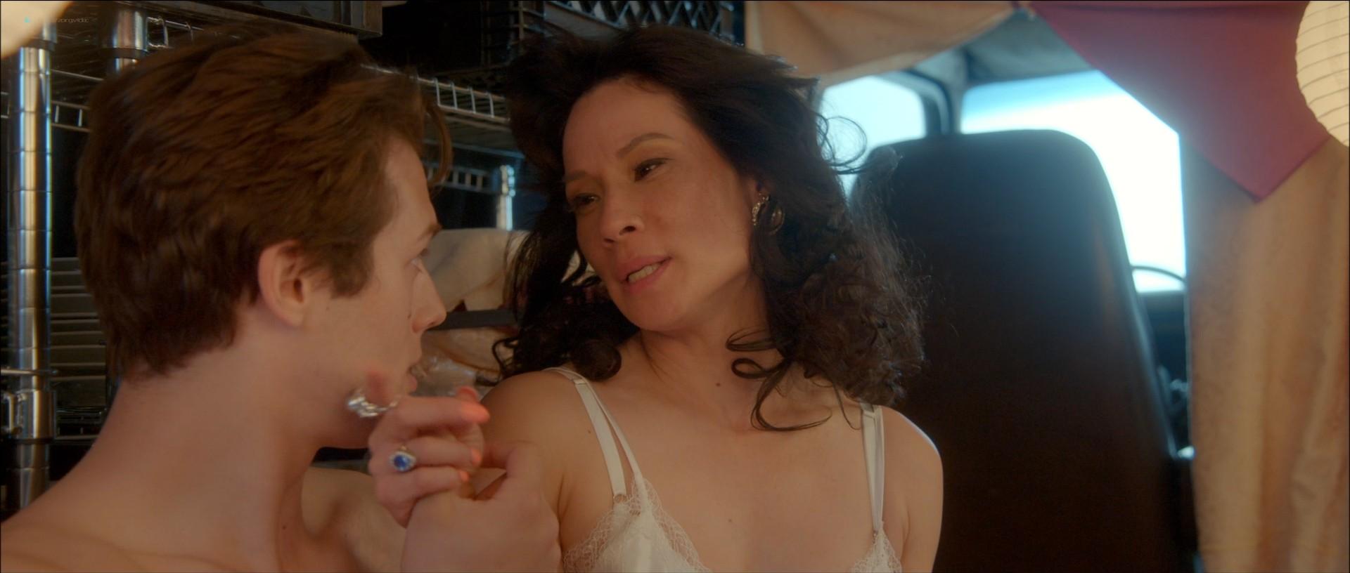 Alexandra Daddario sexy Lucy Liu hot and some sex - Why Women Kill (2019) s1e3 HD 1080p Web (11)
