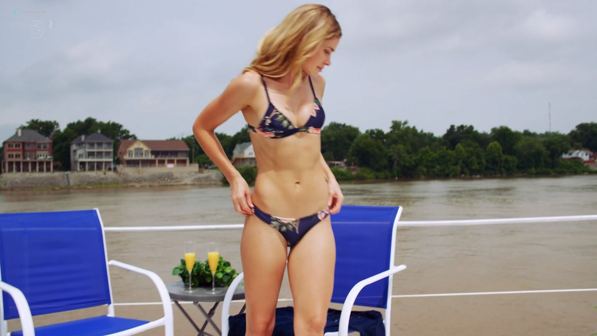 Anna Hutchison hot bikini Melissa Bolona and others sexy too - Murder at the Mansion (2018) HDTV ...