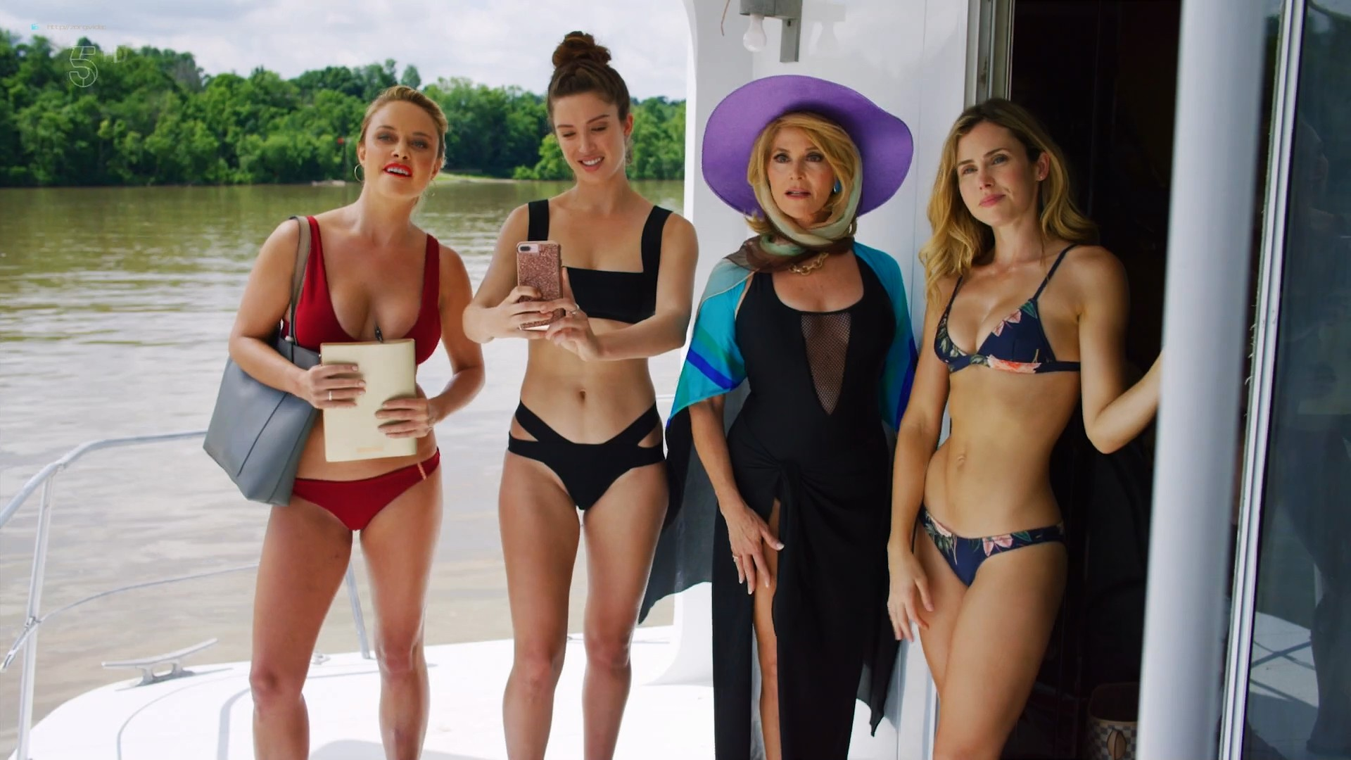 Anna Hutchison hot bikini Melissa Bolona and others sexy too - Murder at the Mansion (2018) HDTV 1080p (7)