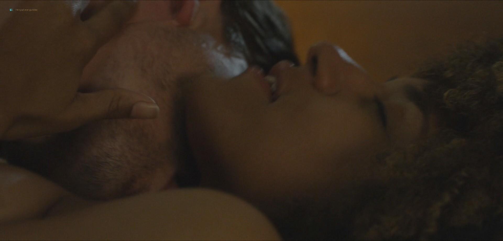 Ariana DeBose sexy lesbian sex with Steffanie Leigh - Seaside (2018) HD 1080 Web (12)