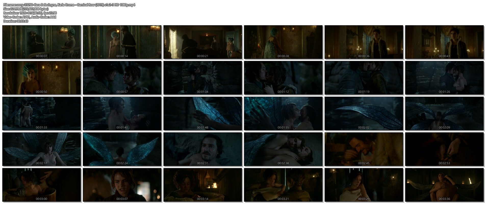 Cara Delevingne nude topless and hot sex Karla Crome sexy - Carnival Row (2019) s1e2-3 HD 1080p (1)