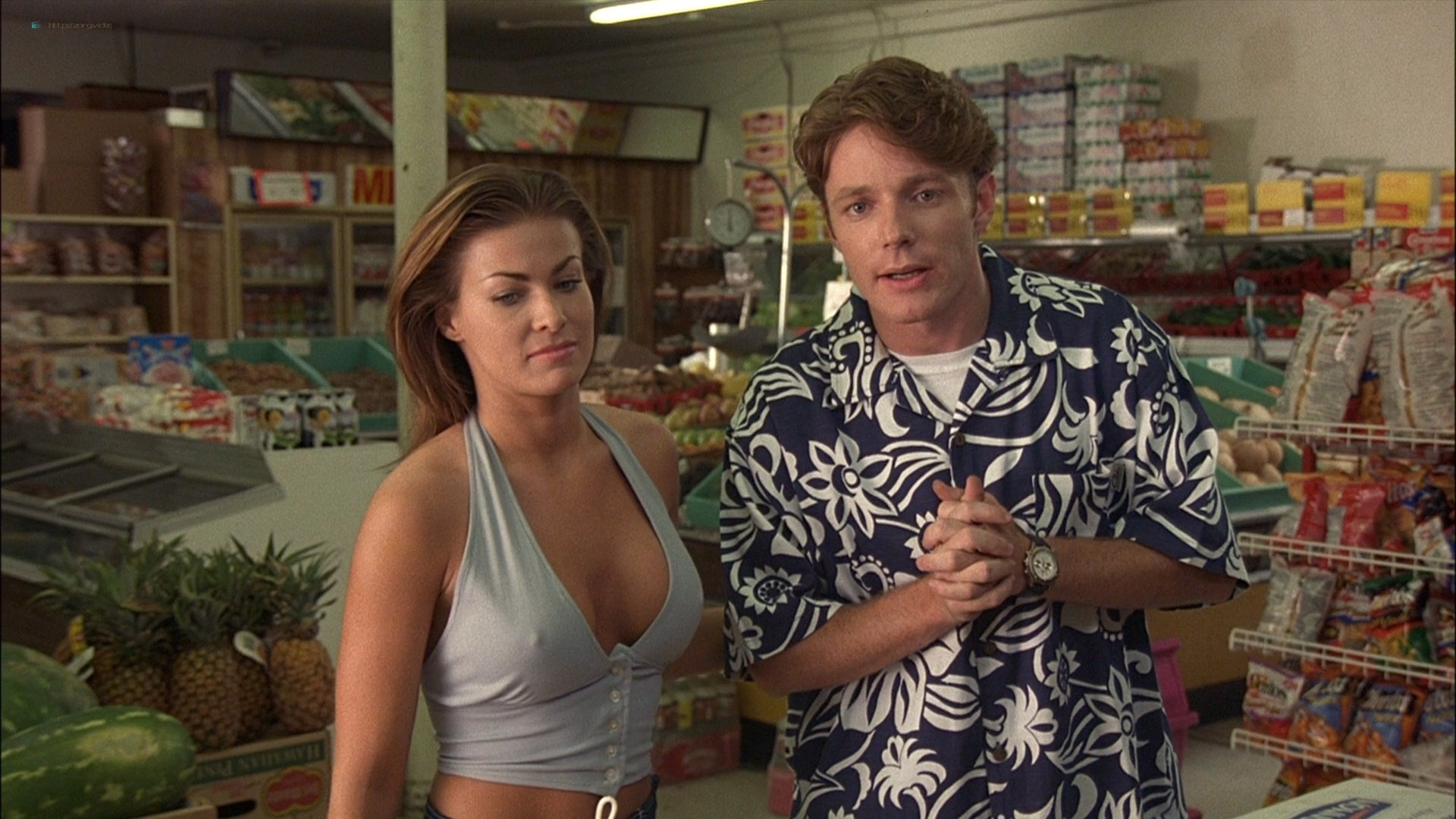 Carmen Electra sexy in a few hot sex scenes - The Mating Habits of the Earthbound Human (1999) HD 1080p WEB (4)