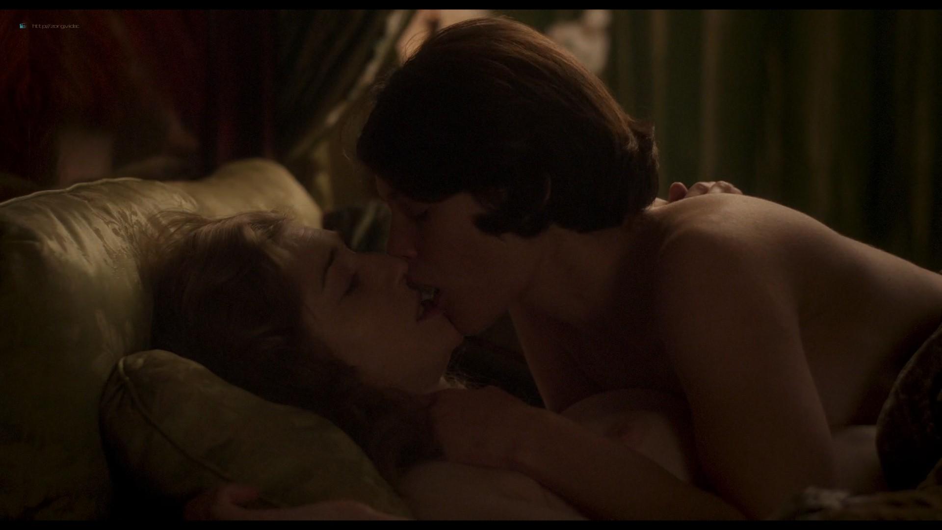 Elizabeth Debicki nude and Gemma Arterton lesbian sex - Vita & Virginia (2018) HD 1080p Web (7)