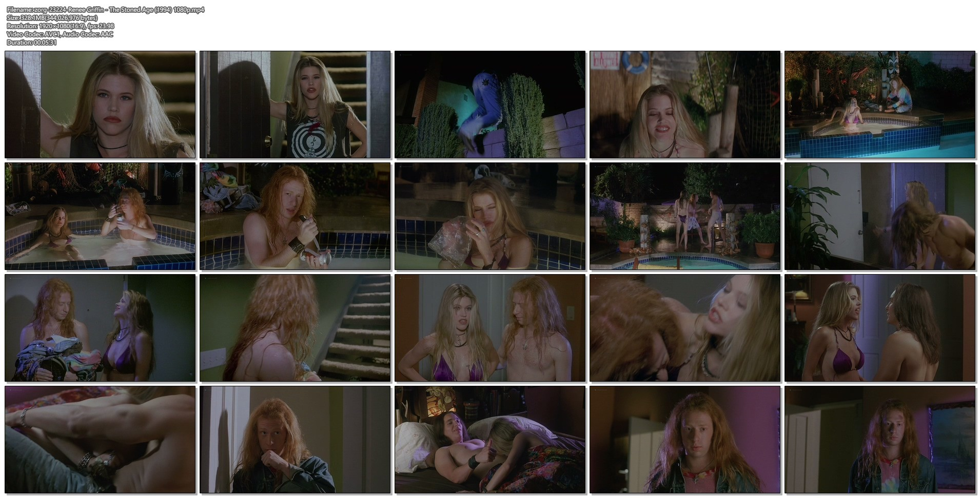 Renee Griffin nude topless - The Stoned Age (1994) 1080p Web (1)