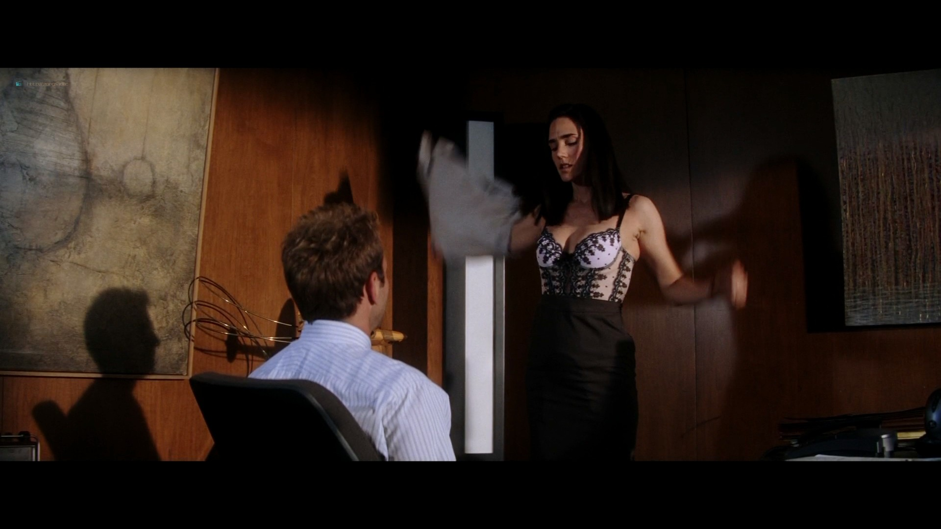 Scarlett Johansson hot and some sex Jennifer Connelly bra - He's Just Not That Into You (2009) HD 1080p BluRay (6)