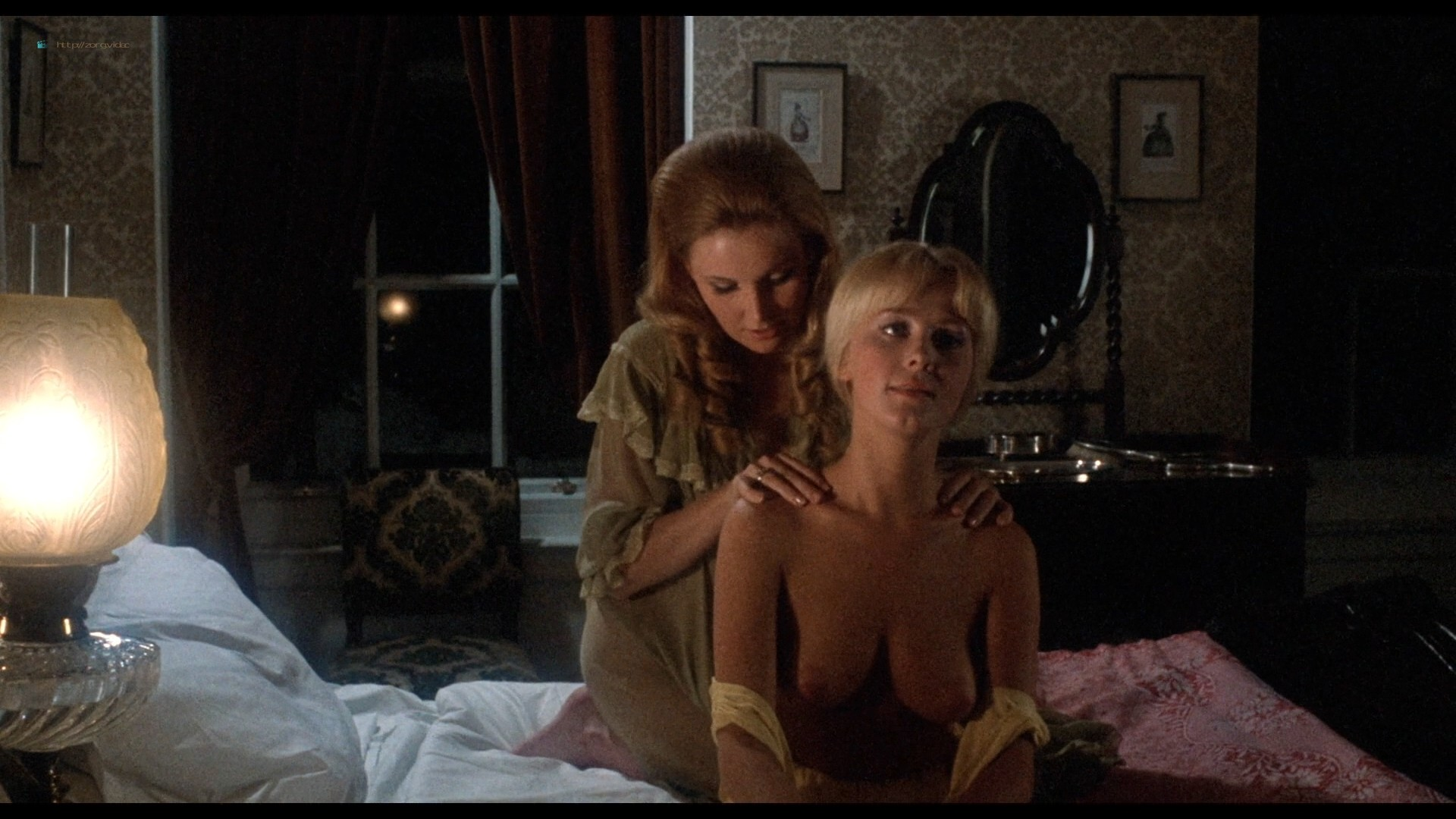 Suzanna Leigh nude Sue Longhurst and others nude topless - Lust for a Vampire (1971) HD 1080p BluRay (10)