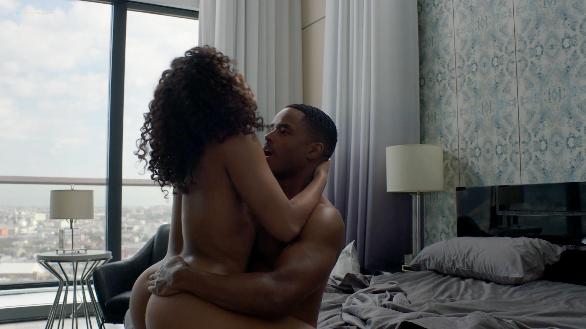 Candace Maxwell nude hot sex doggy style - Power (2019) s6e3 HD 1080p Web (7)