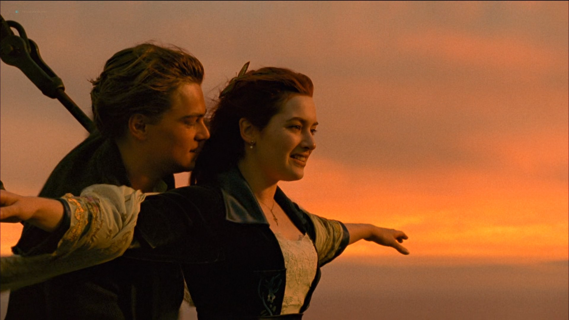 Kate Winslet nude topless - Titanic (1997) HD 1080p BluRay (13)
